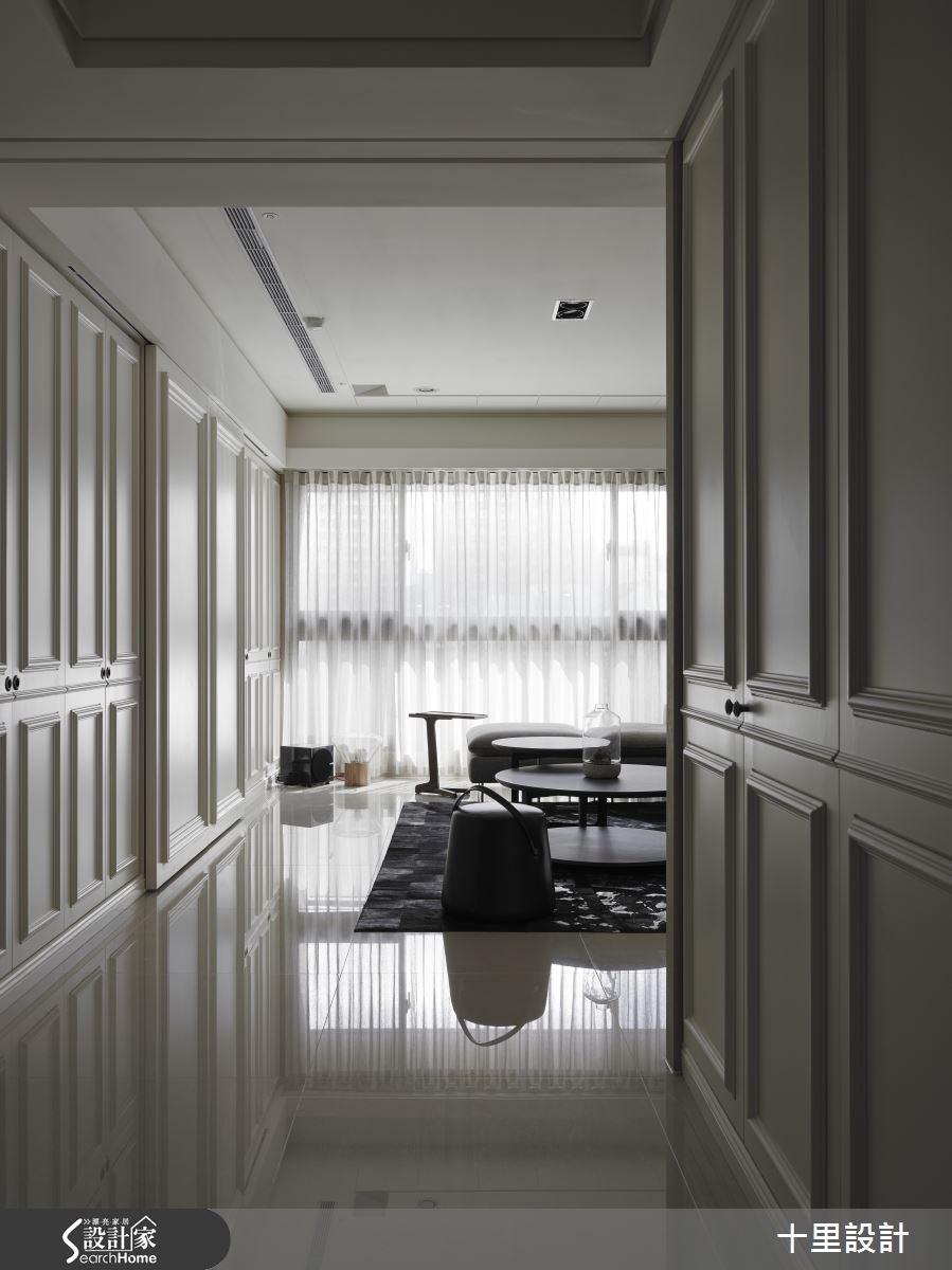 45坪新成屋(5年以下)_混搭風客廳案例圖片_十里設計_十里_05之1