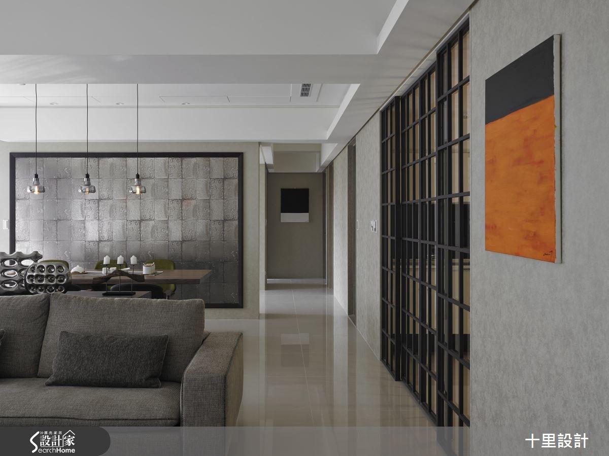 45坪新成屋(5年以下)_混搭風客廳餐廳案例圖片_十里設計_十里_05之4