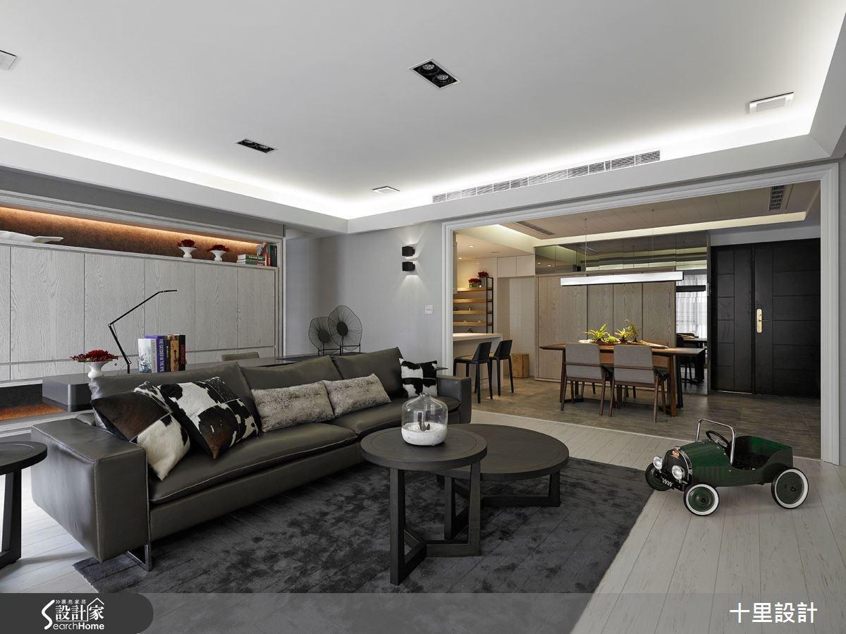 新成屋(5年以下)_現代風客廳餐廳案例圖片_十里設計_十里_06之1
