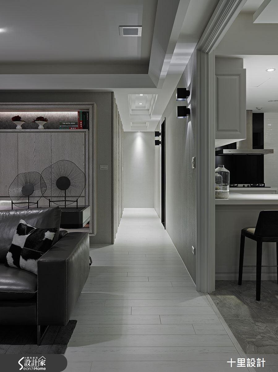 新成屋(5年以下)_現代風客廳走廊案例圖片_十里設計_十里_06之5