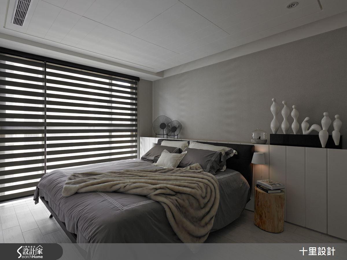 新成屋(5年以下)_現代風臥室案例圖片_十里設計_十里_06之12