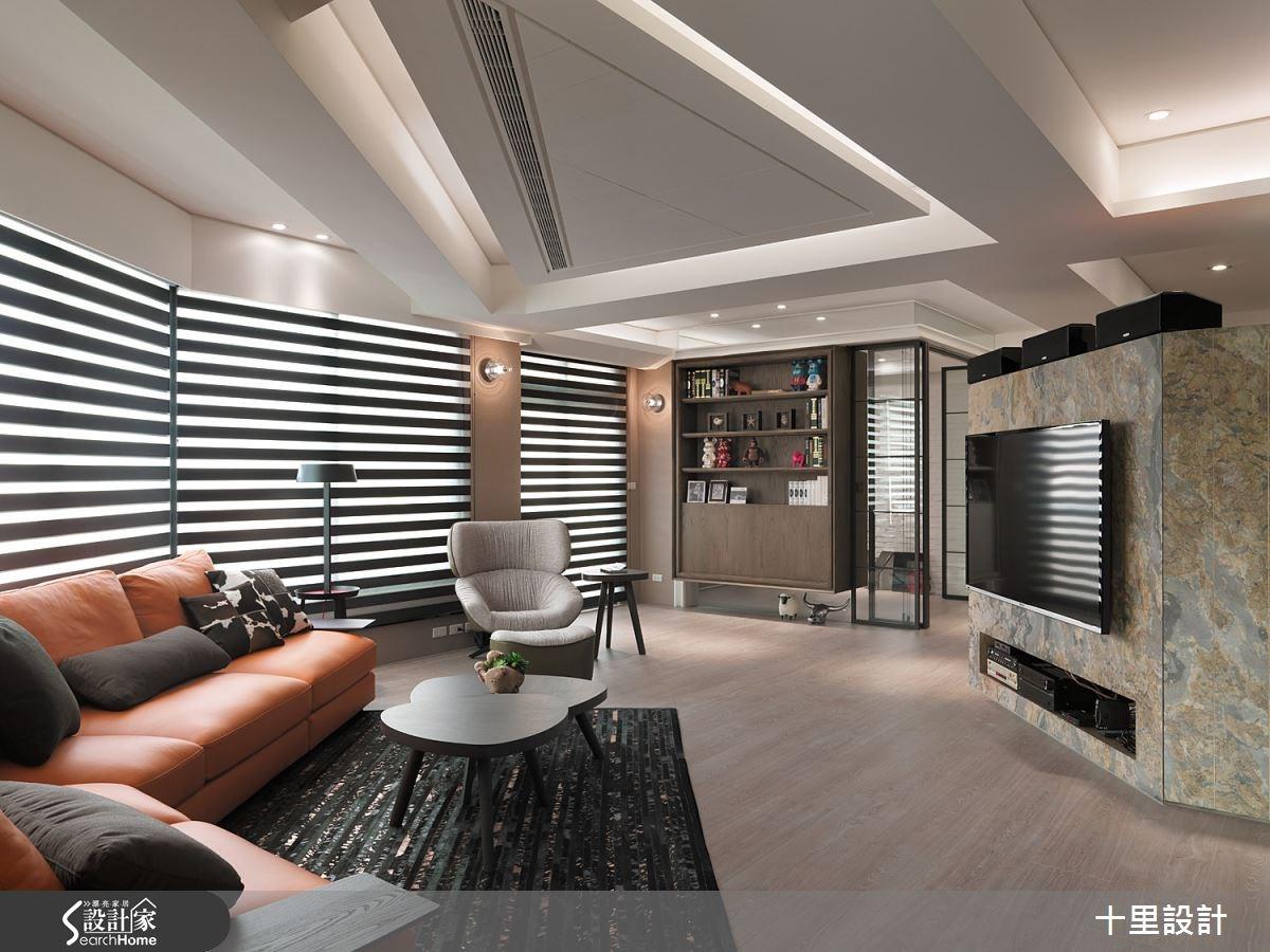 40坪新成屋(5年以下)_現代風客廳案例圖片_十里設計_十里_08之1