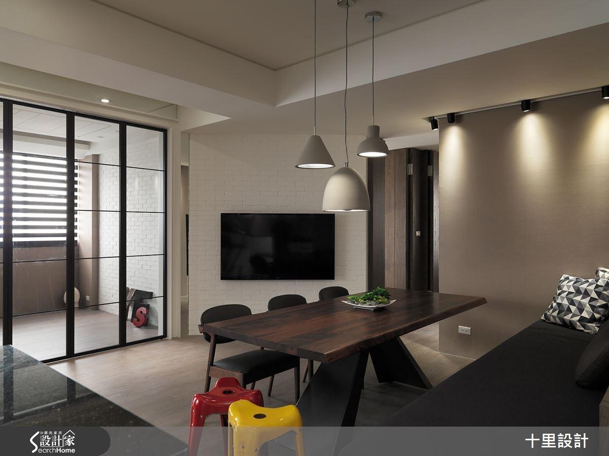 40坪新成屋(5年以下)_現代風餐廳案例圖片_十里設計_十里_08之5