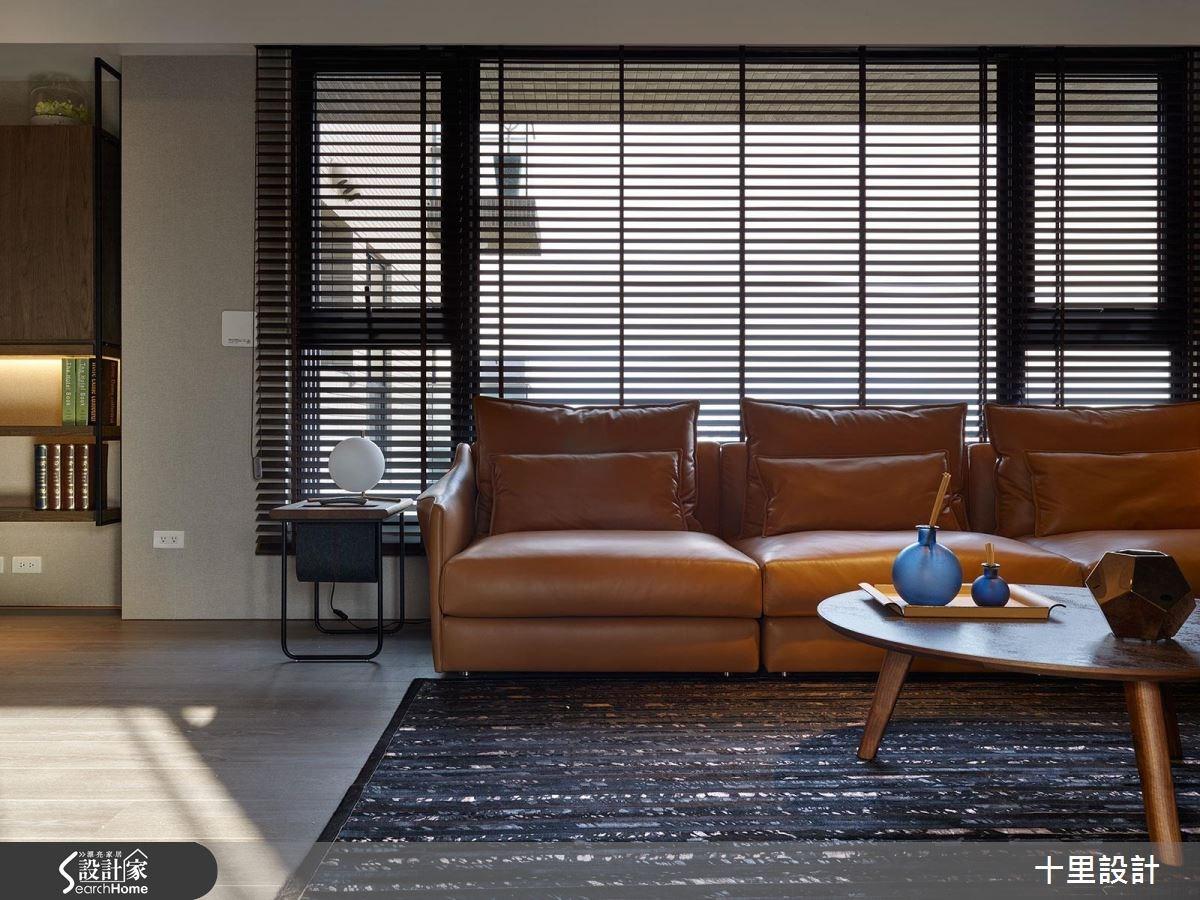 預售屋_現代風客廳案例圖片_十里設計_十里_10之6