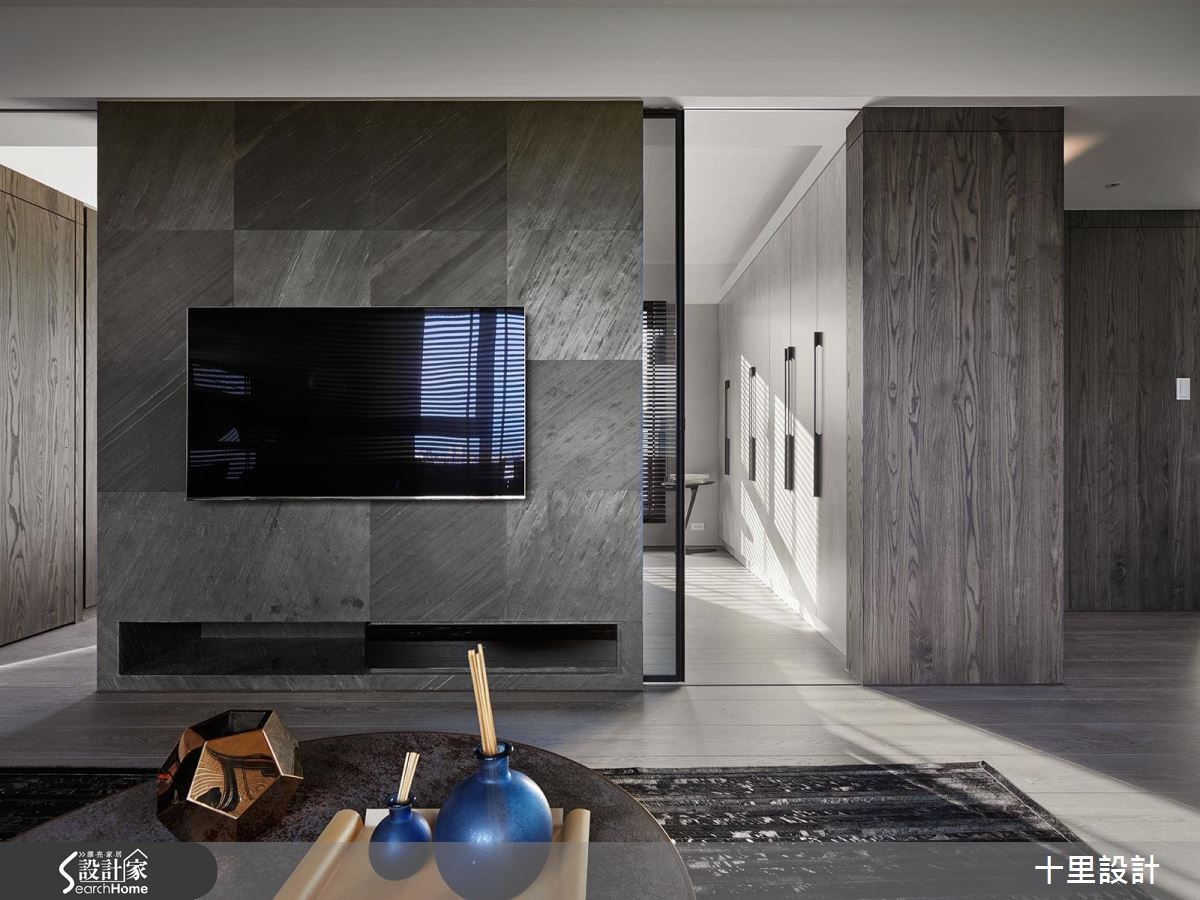 預售屋_現代風客廳案例圖片_十里設計_十里_10之8