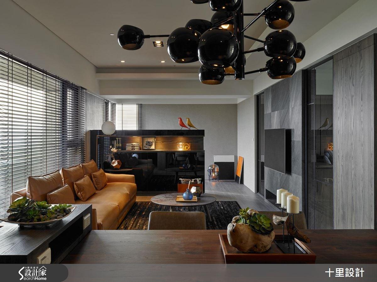 預售屋_現代風客廳案例圖片_十里設計_十里_10之11