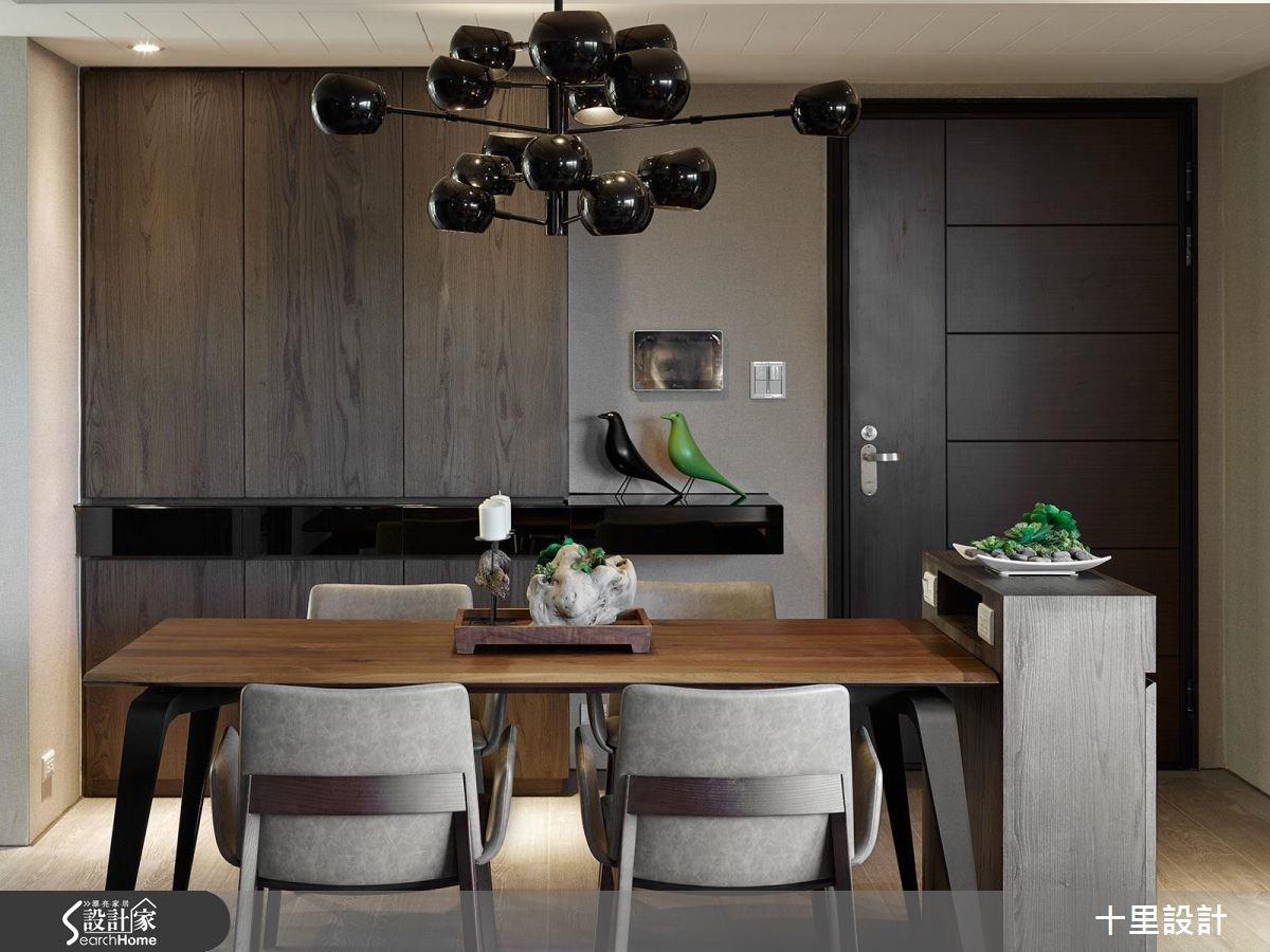 預售屋_現代風餐廳案例圖片_十里設計_十里_10之12