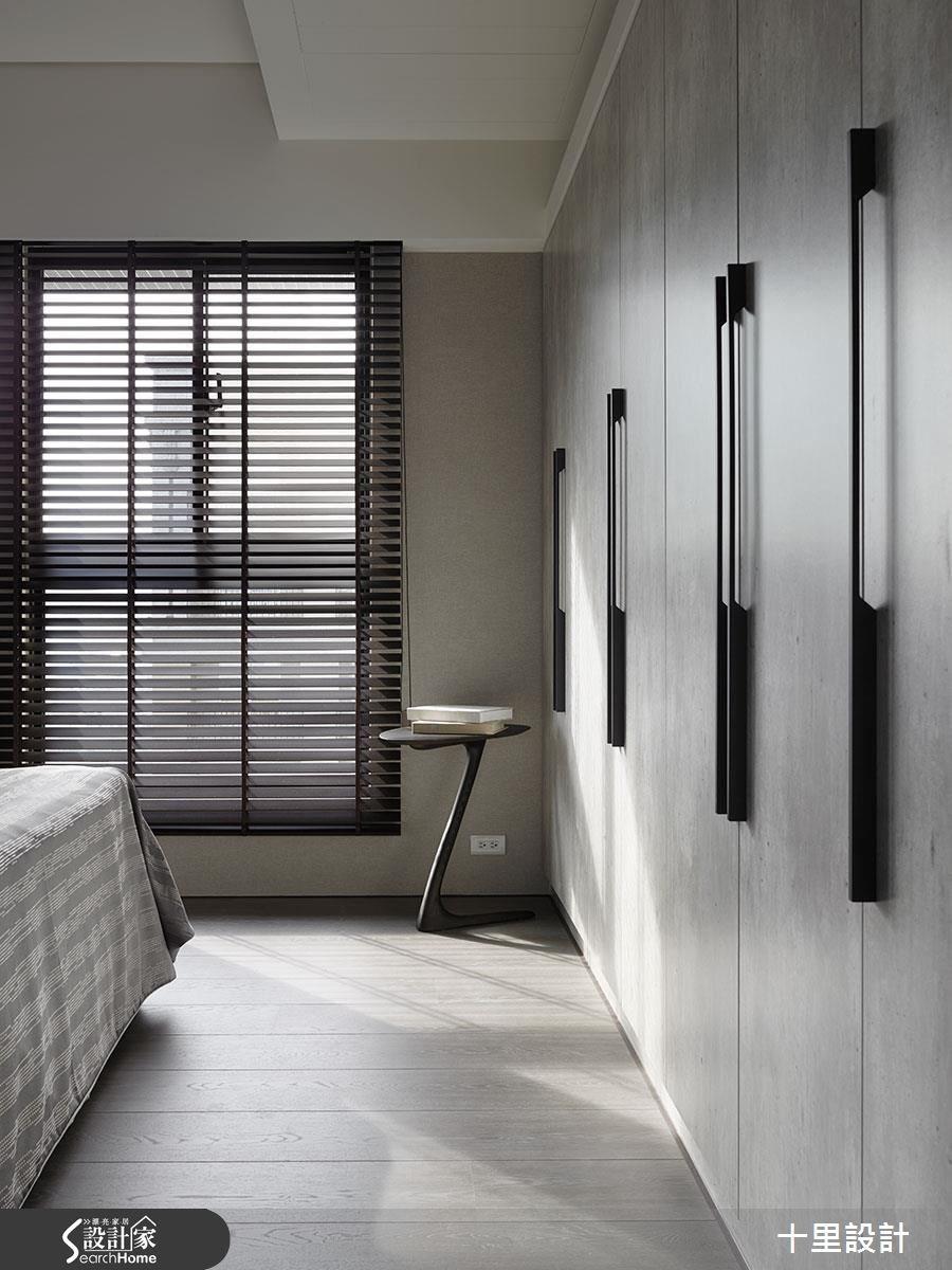 預售屋_現代風臥室案例圖片_十里設計_十里_10之13