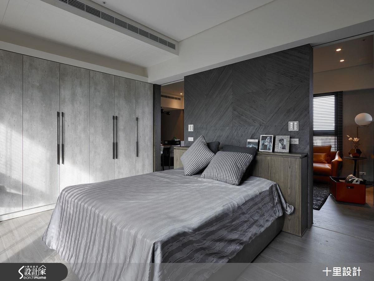 預售屋_現代風臥室案例圖片_十里設計_十里_10之14