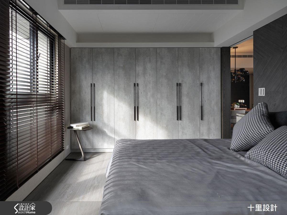 預售屋_現代風臥室案例圖片_十里設計_十里_10之16
