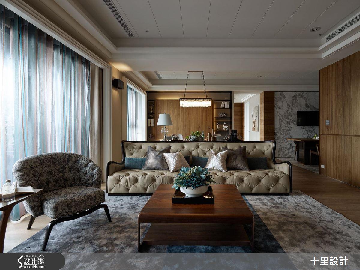 旅居家族最舒適的落腳處! 47 坪微奢小豪宅的隱藏時尚收納