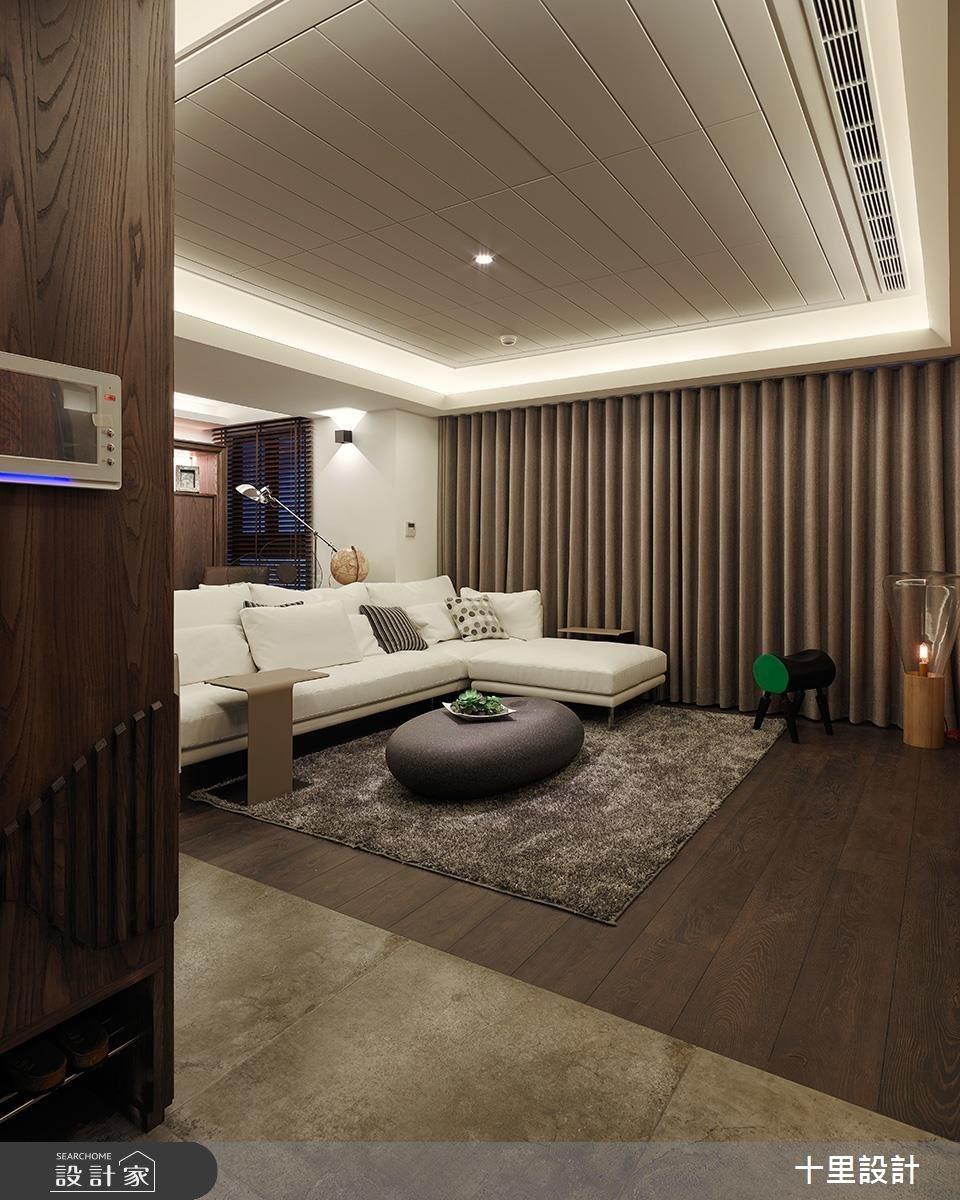 37坪新成屋(5年以下)_現代風客廳案例圖片_十里設計_十里_12之1