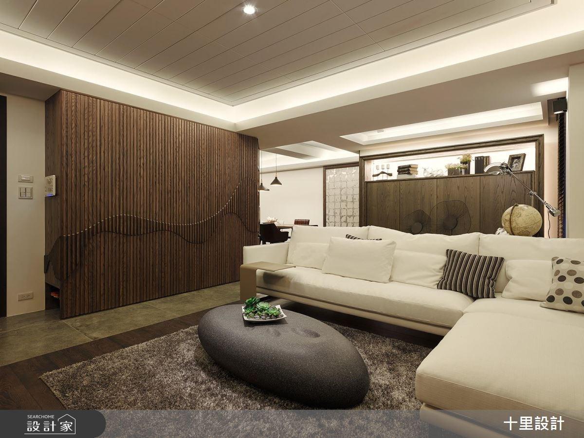 37坪新成屋(5年以下)_現代風客廳案例圖片_十里設計_十里_12之2