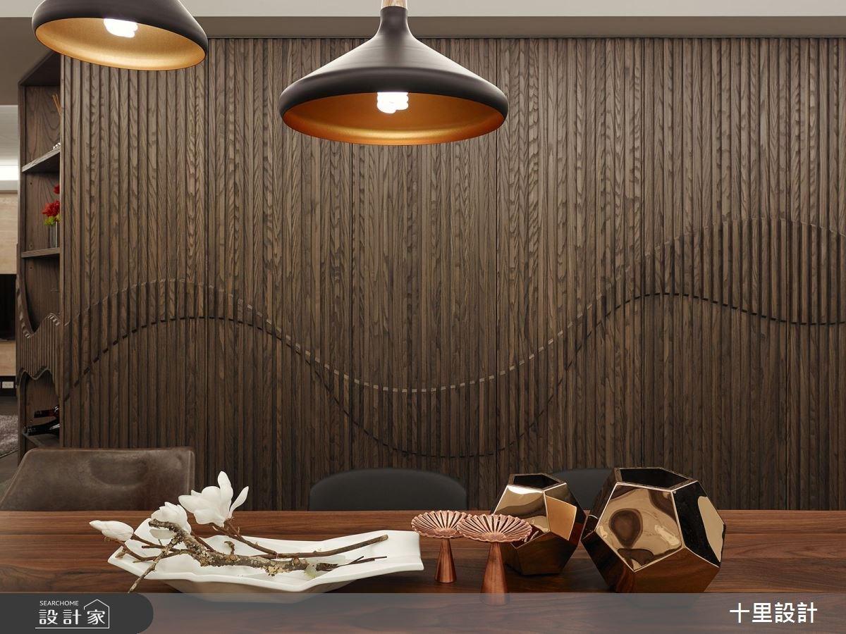 37坪新成屋(5年以下)_現代風餐廳案例圖片_十里設計_十里_12之6