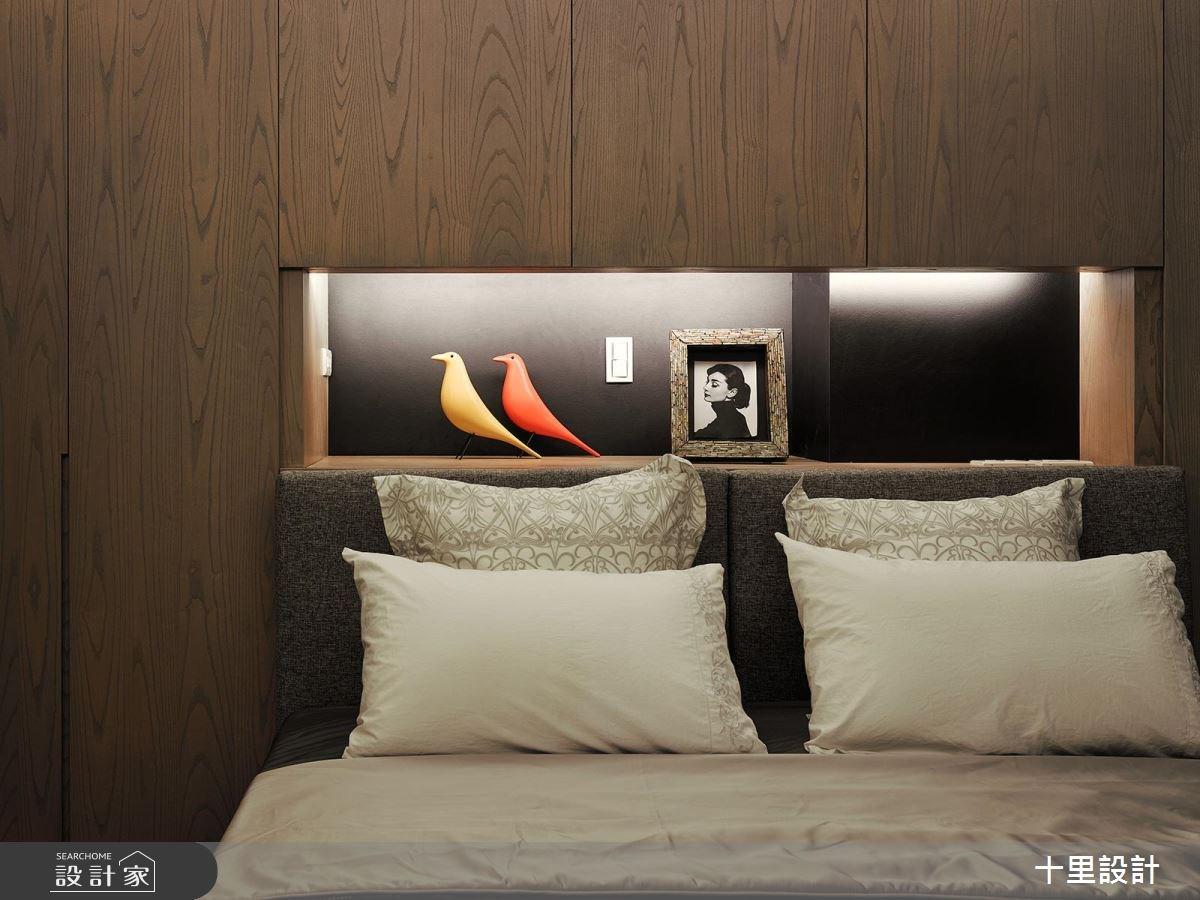 37坪新成屋(5年以下)_現代風臥室案例圖片_十里設計_十里_12之7
