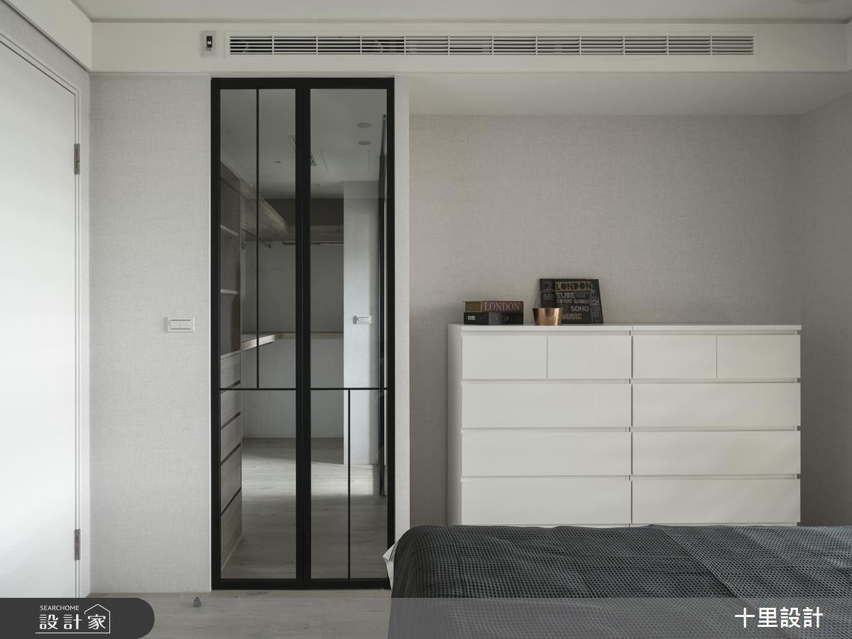 23坪新成屋(5年以下)_現代風臥室案例圖片_十里設計_十里_13之11