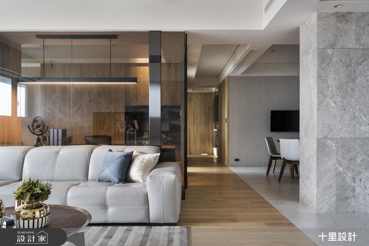 新成屋(5年以下)_現代風客廳案例圖片_十里設計_十里_16之3