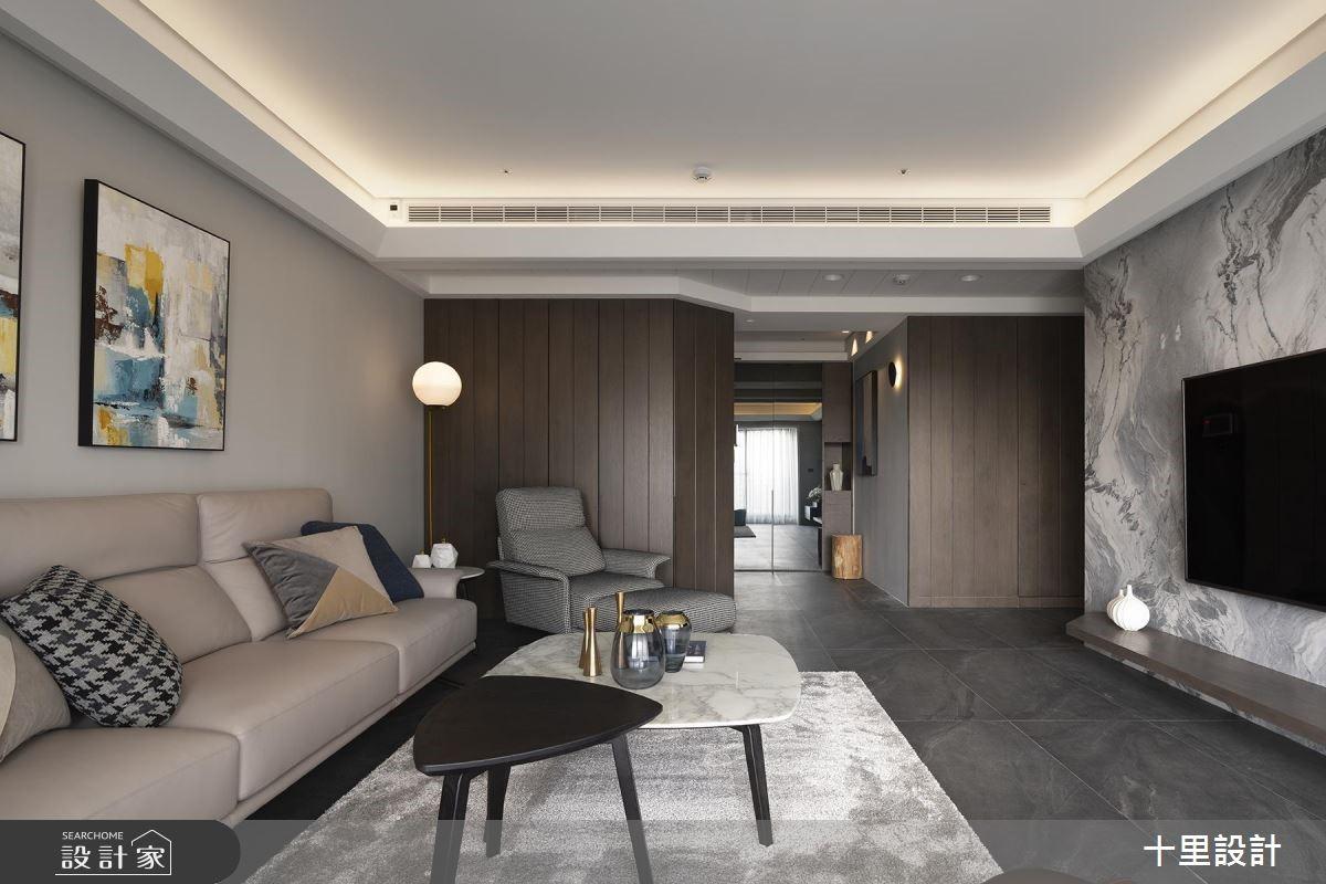43坪預售屋_現代風案例圖片_十里設計_十里_17之3