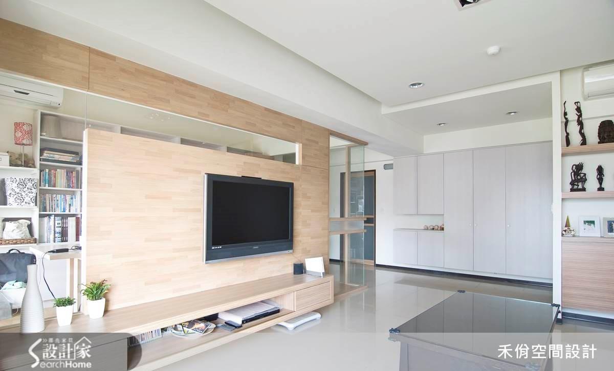 30坪新成屋(5年以下)_現代風案例圖片_禾佾空間設計事務所_禾佾_02之3
