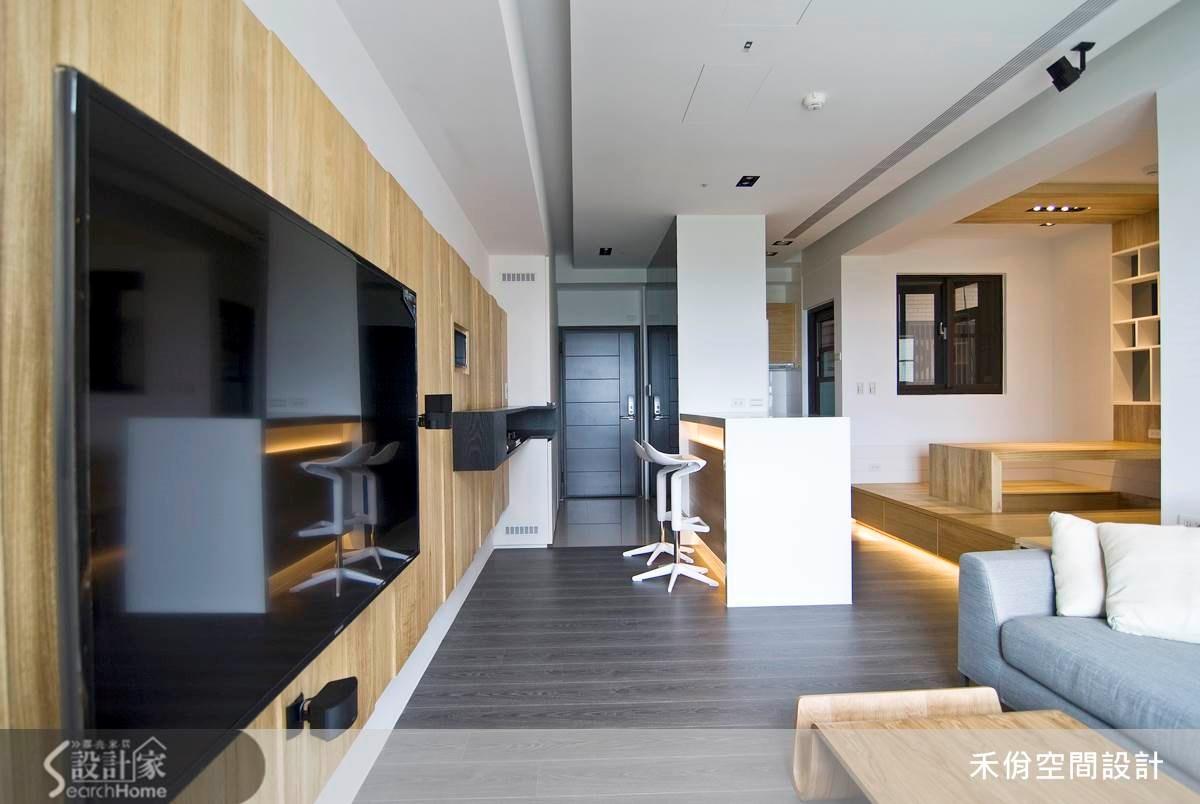 18坪新成屋(5年以下)_現代風案例圖片_禾佾空間設計事務所_禾佾_05之9