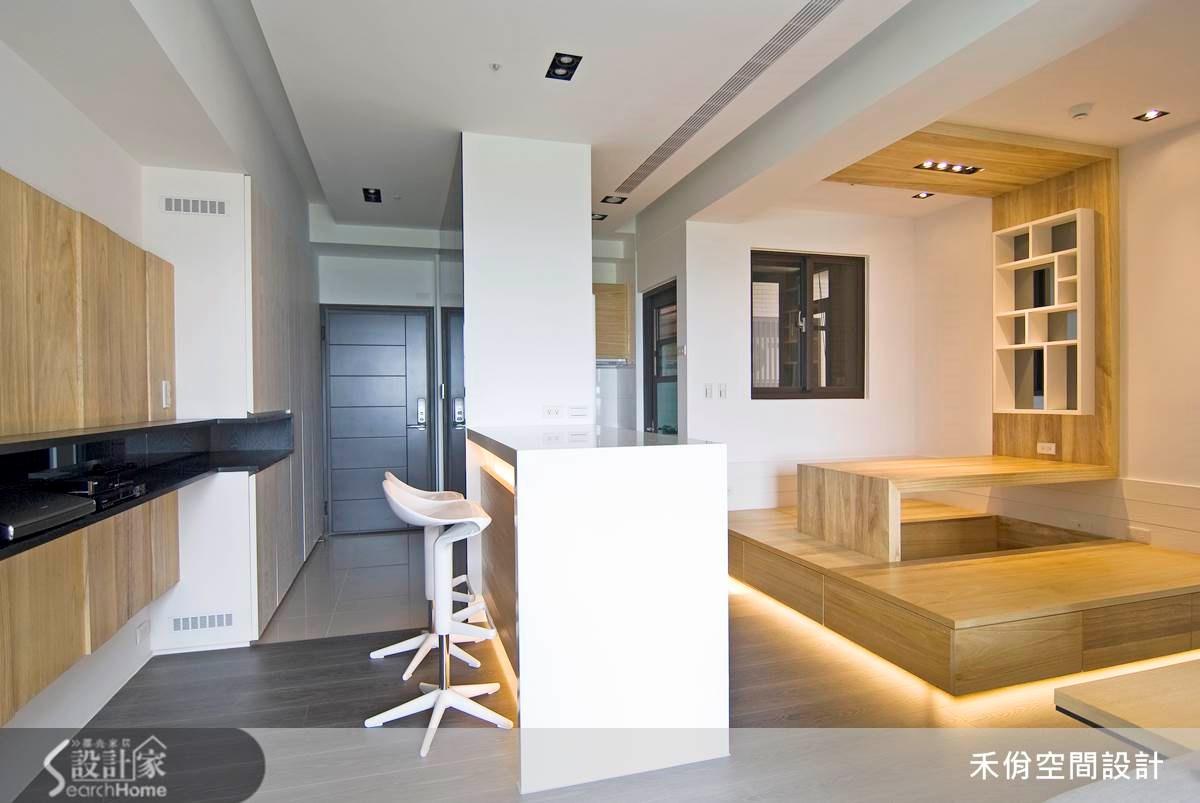 18坪新成屋(5年以下)_現代風案例圖片_禾佾空間設計事務所_禾佾_05之10