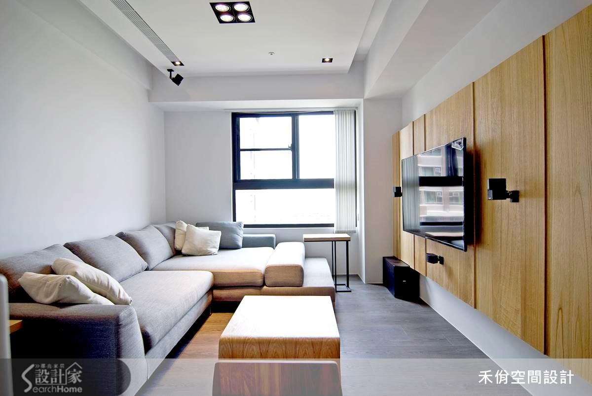 18坪新成屋(5年以下)_現代風案例圖片_禾佾空間設計事務所_禾佾_05之5