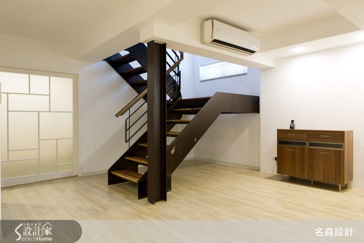 60坪老屋(16~30年)_北歐風客廳樓梯案例圖片_名堯設計有限公司_名堯_02之4