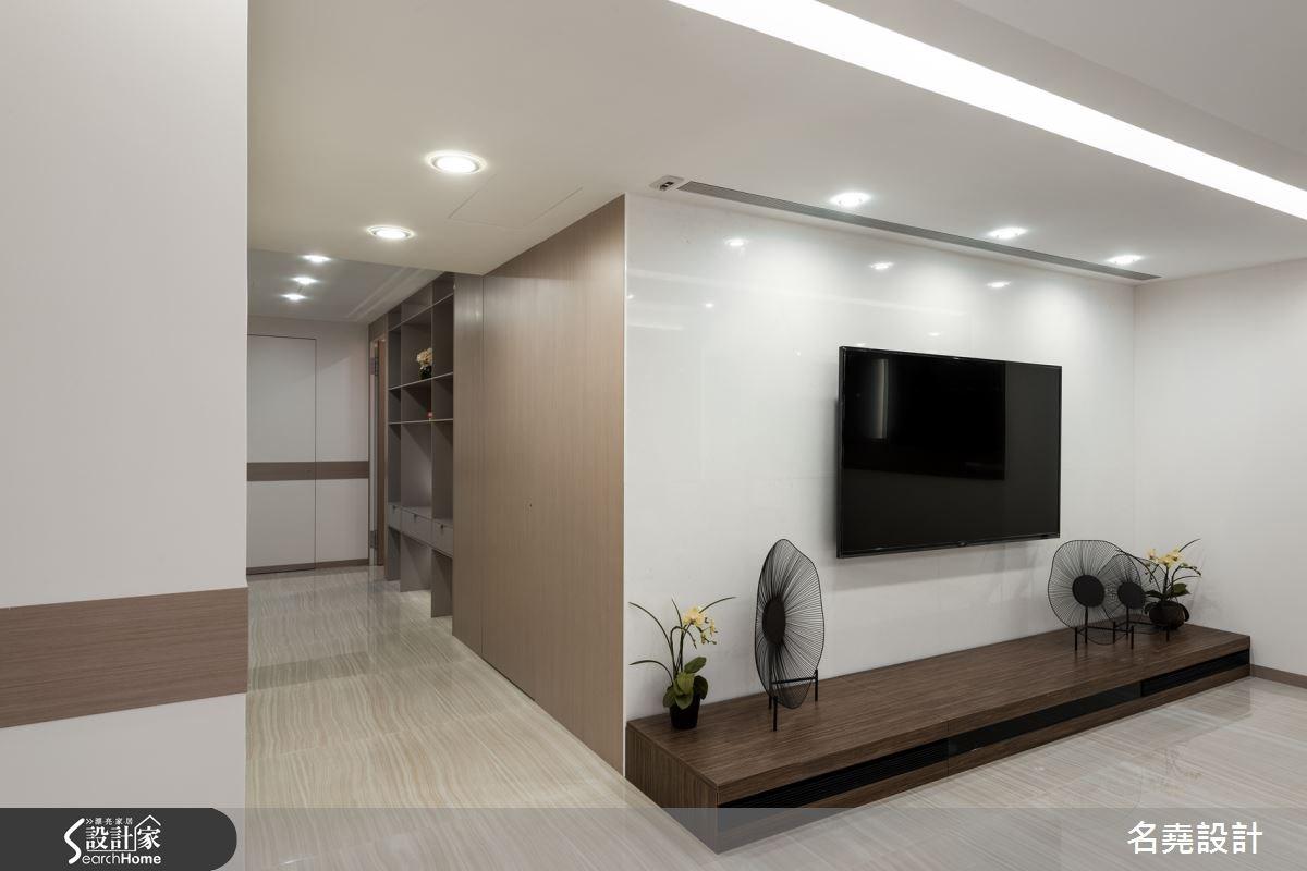 _現代風客廳走廊案例圖片_名堯設計有限公司_名堯_10之14