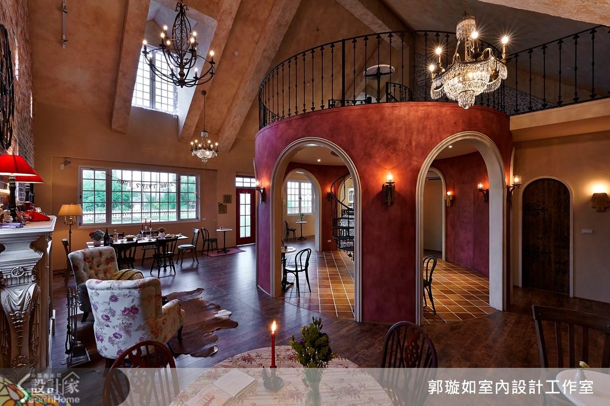42坪新成屋(5年以下)_鄉村風案例圖片_郭璇如室內設計工作室_郭璇如_12之1