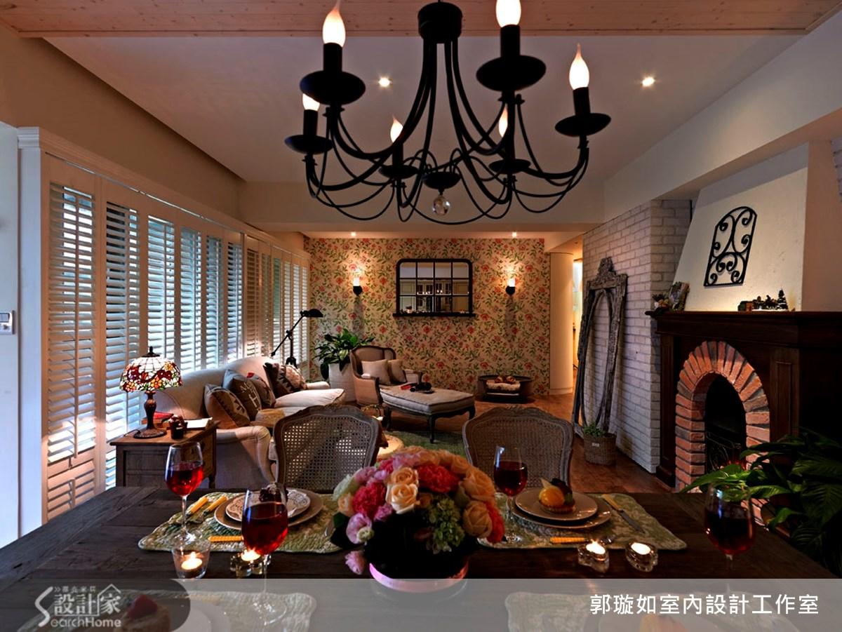 35坪中古屋(5~15年)_鄉村風案例圖片_郭璇如室內設計工作室_郭璇如_10之13