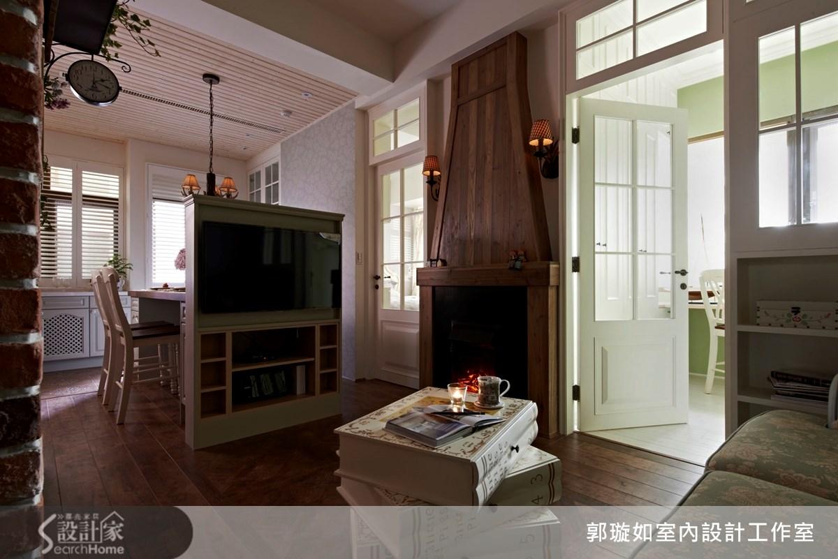 17坪新成屋(5年以下)_鄉村風案例圖片_郭璇如室內設計工作室_郭璇如_09之10