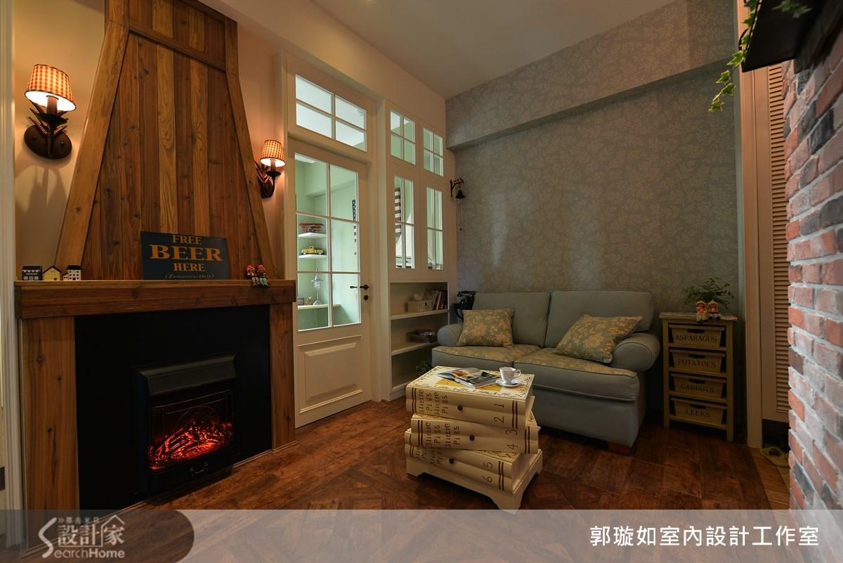 17坪新成屋(5年以下)_鄉村風案例圖片_郭璇如室內設計工作室_郭璇如_09之3