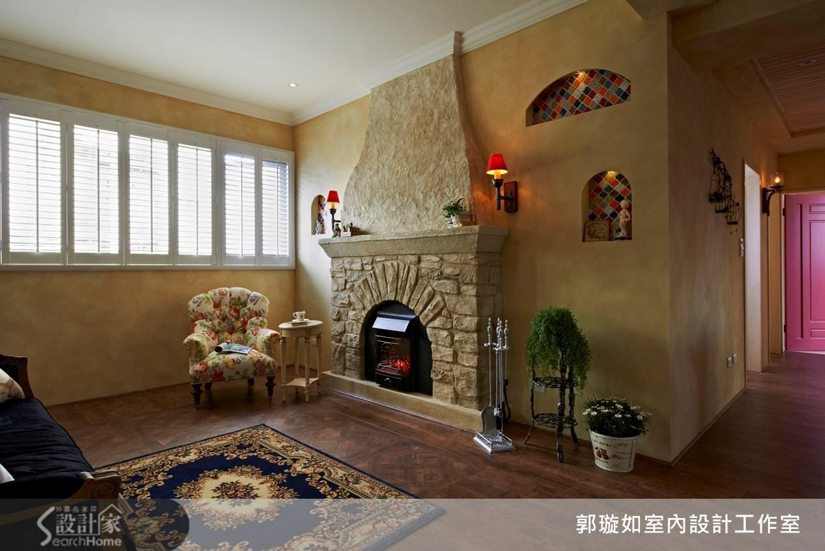 27坪新成屋(5年以下)_鄉村風案例圖片_郭璇如室內設計工作室_郭璇如_07之3