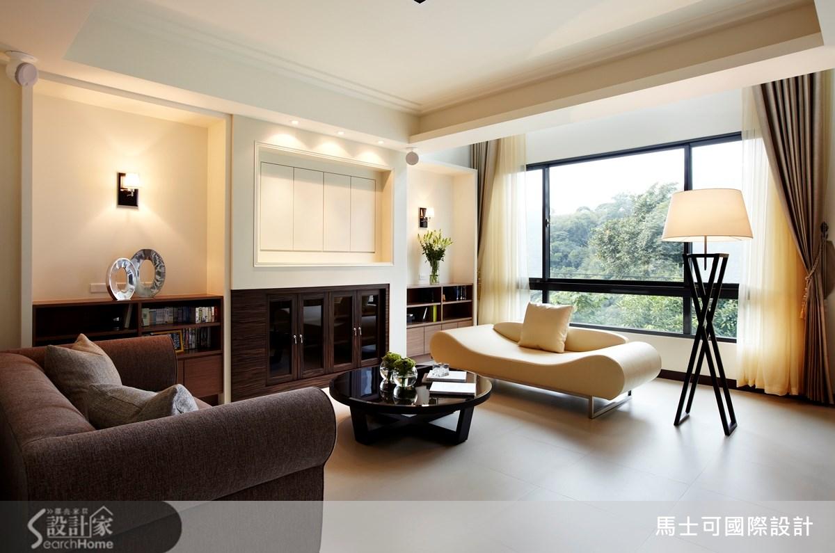 112坪新成屋(5年以下)_簡約風案例圖片_馬士可國際設計有限公司_馬士可_05之1