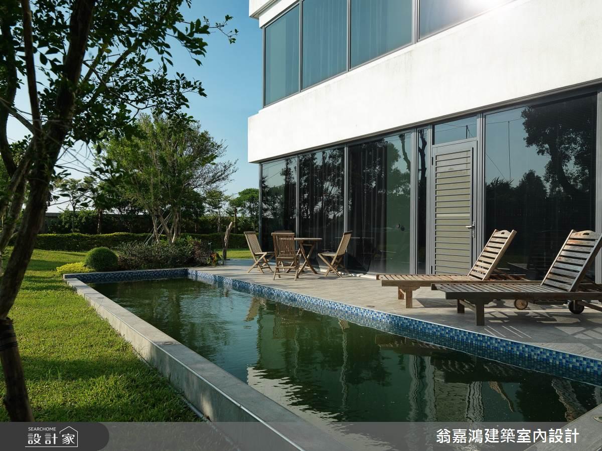 200坪_休閒風案例圖片_翁嘉鴻建築室內設計_懷生_C House-1之2