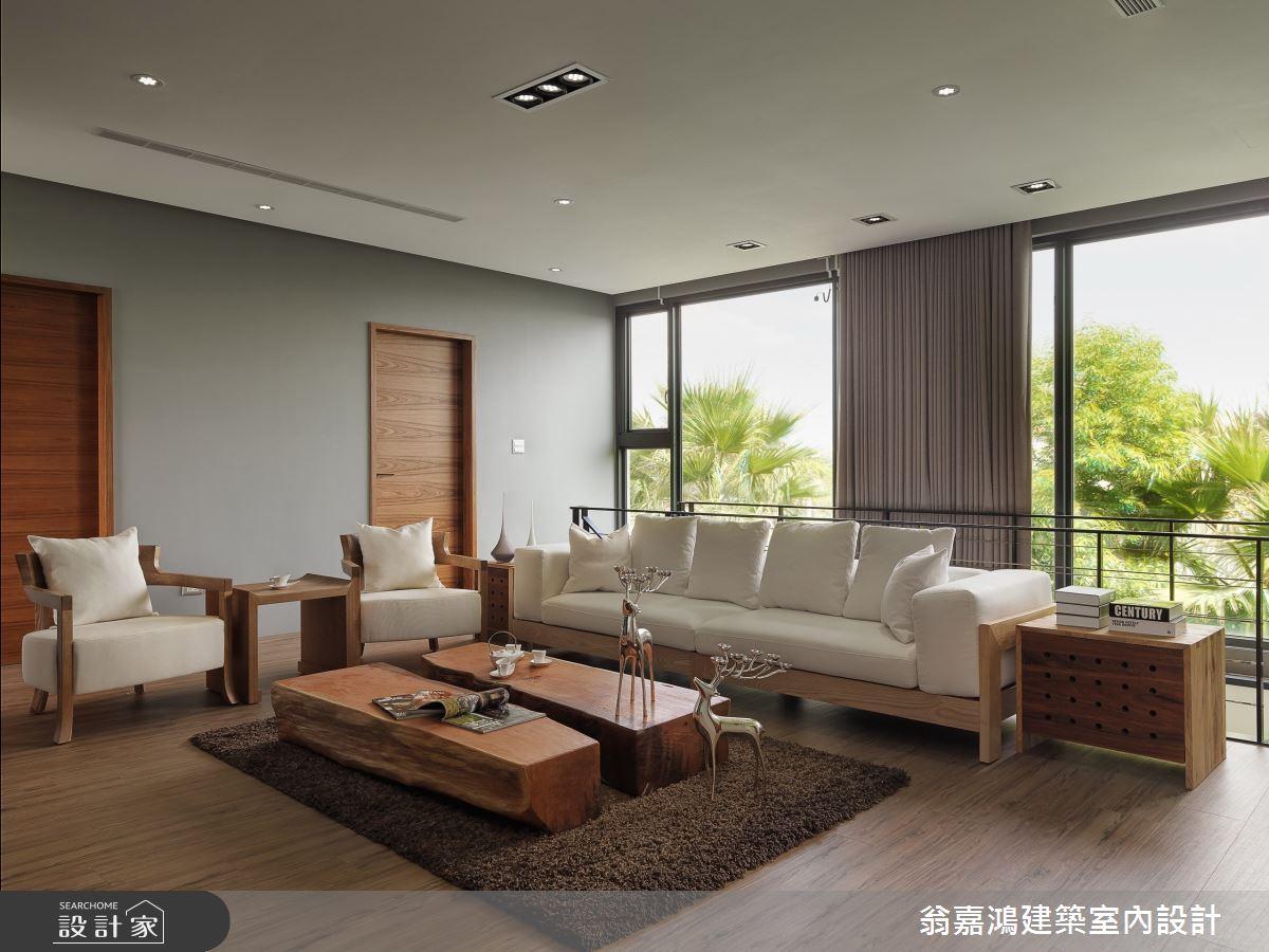 200坪_休閒風案例圖片_翁嘉鴻建築室內設計_懷生_1.桃園-C House之4
