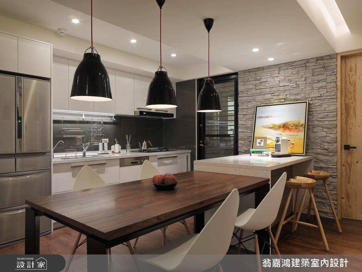 40坪老屋(16~30年)_簡約風案例圖片_翁嘉鴻建築室內設計_懷生_C House-2之5