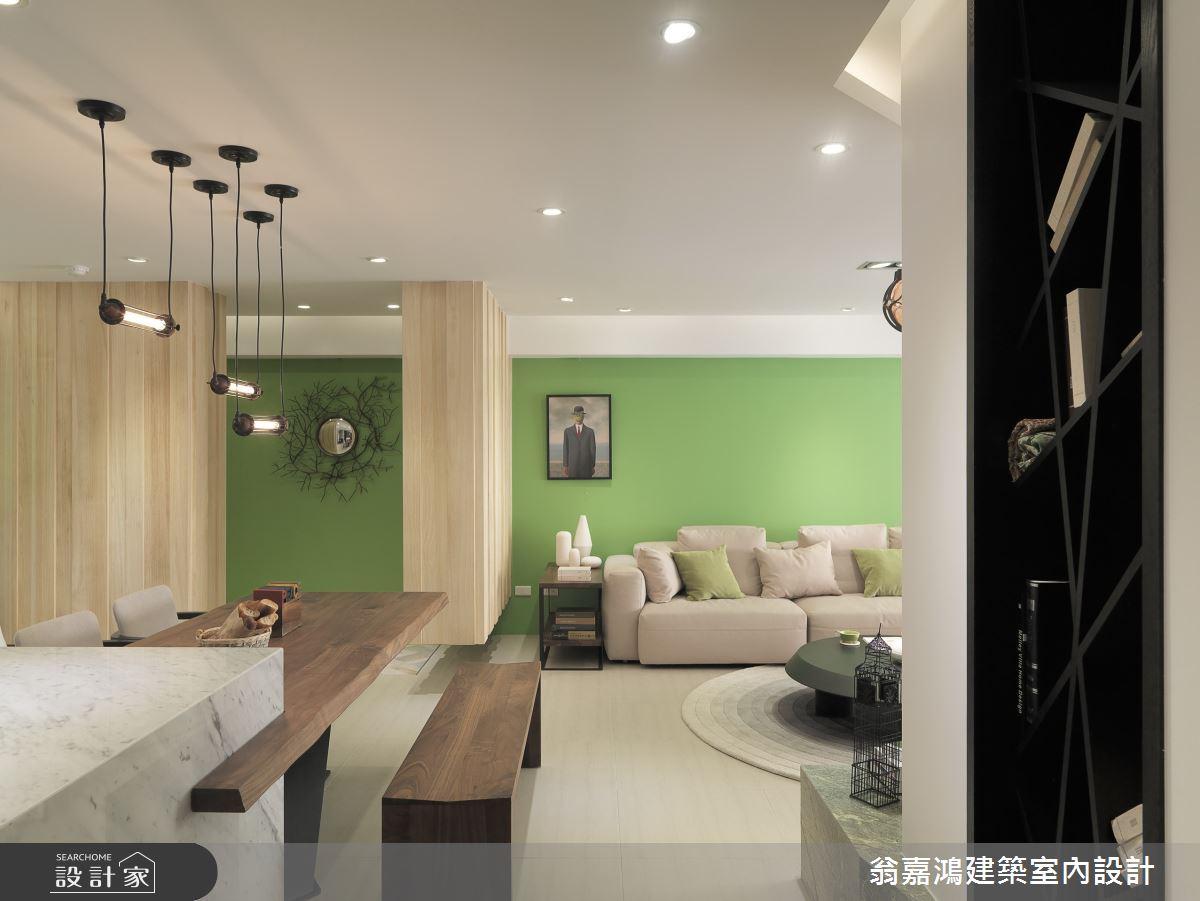 50坪老屋(16~30年)_療癒風案例圖片_翁嘉鴻建築室內設計_懷生_5.台北-G House之5