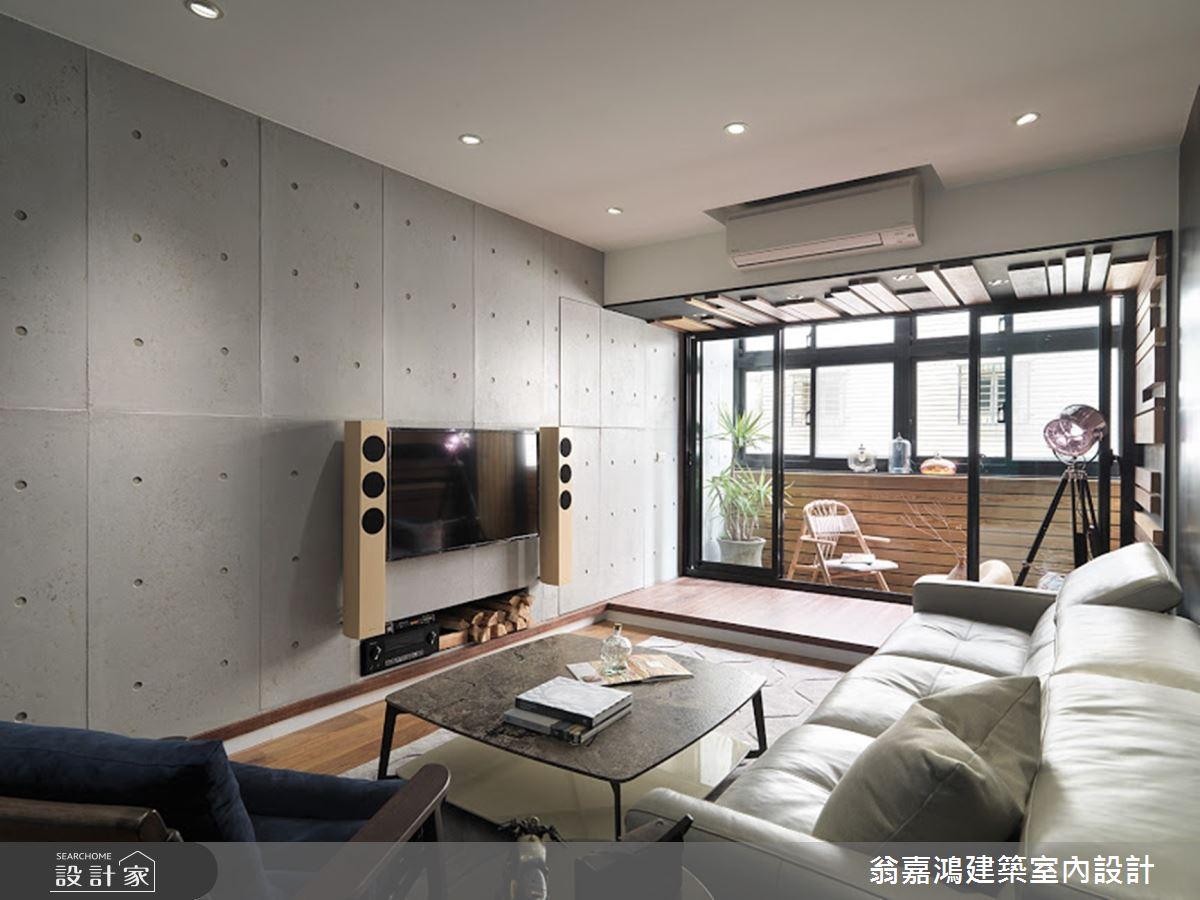 30坪老屋(16~30年)_現代風案例圖片_翁嘉鴻建築室內設計_懷生_10.士林-Z House之4