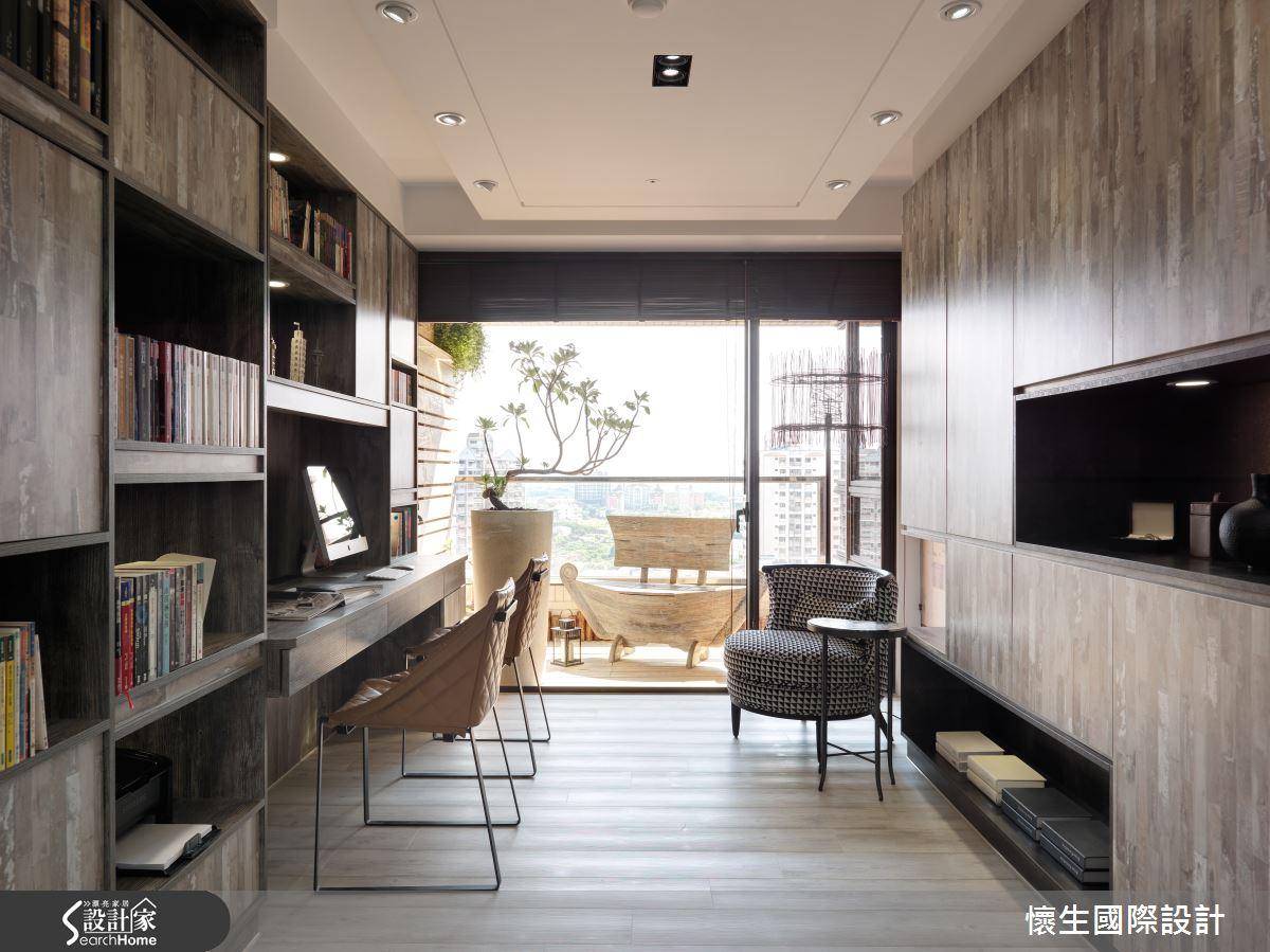好放鬆!木石交疊出的創意現代宅