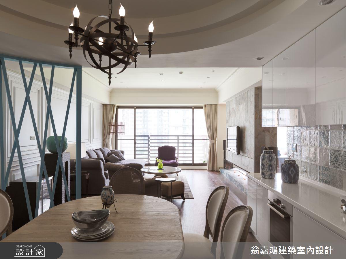 60坪新成屋(5年以下)_療癒風案例圖片_翁嘉鴻建築室內設計_懷生_W House-2之3
