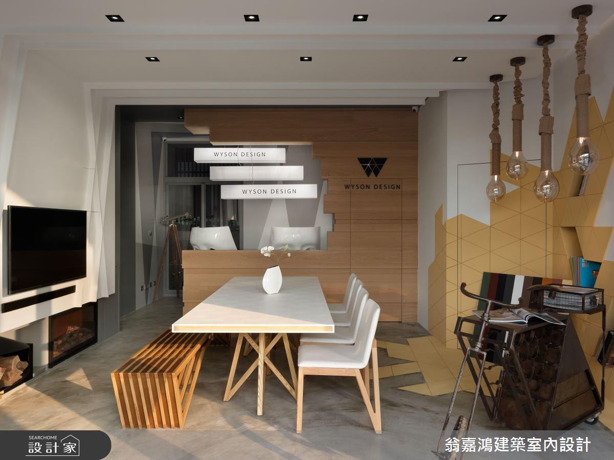 30坪新成屋(5年以下)_簡約風案例圖片_翁嘉鴻建築室內設計_懷生_商空商辦之1