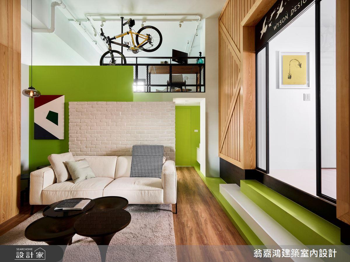 40坪新成屋(5年以下)_療癒風案例圖片_翁嘉鴻建築室內設計_懷生_17.新竹-L House之1