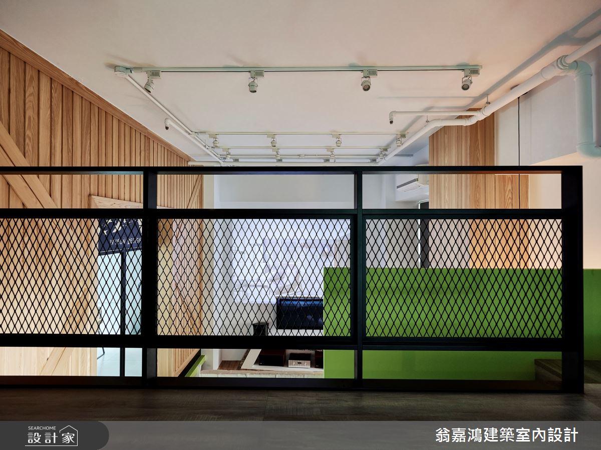40坪新成屋(5年以下)_療癒風案例圖片_翁嘉鴻建築室內設計_懷生_L House-4之4