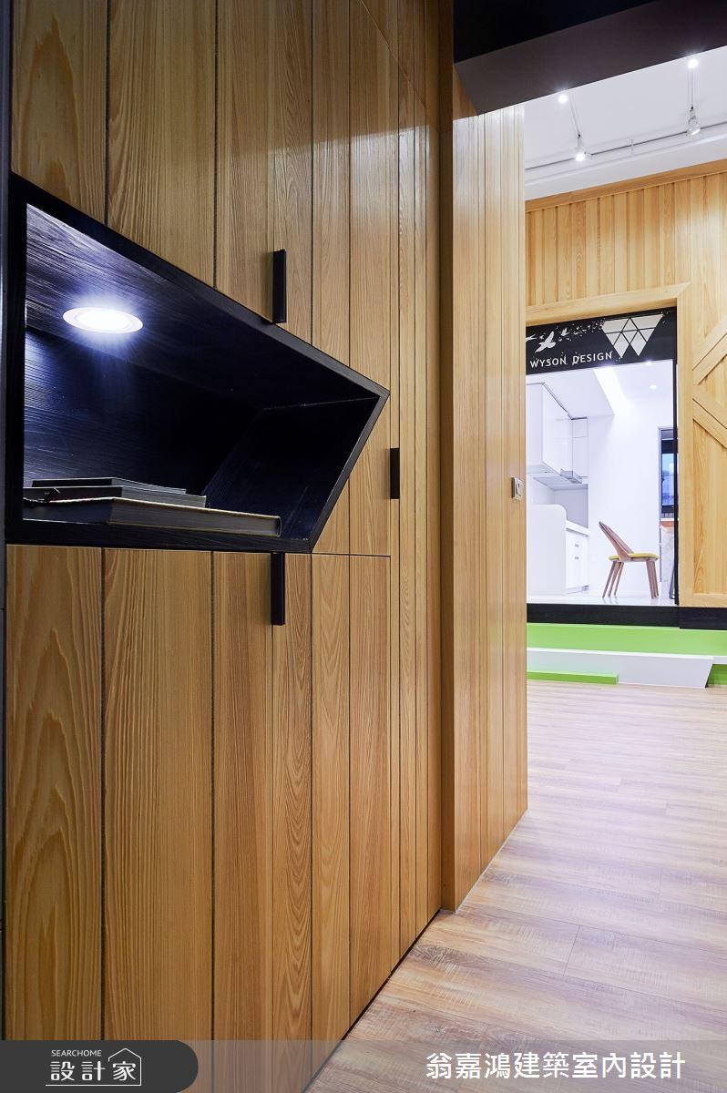 40坪新成屋(5年以下)_療癒風案例圖片_翁嘉鴻建築室內設計_懷生_17.新竹-L House之18