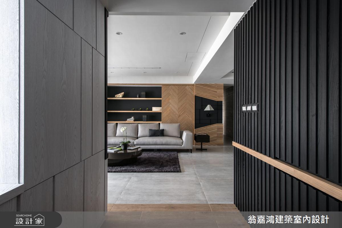100坪中古屋(5~15年)_奢華風案例圖片_翁嘉鴻建築室內設計_懷生_Z House-3之2