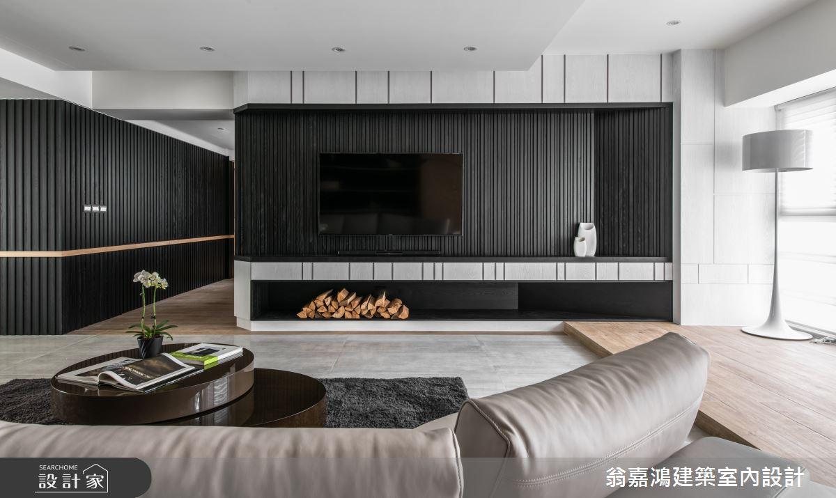 100坪中古屋(5~15年)_奢華風案例圖片_翁嘉鴻建築室內設計_懷生_Z House-3之4