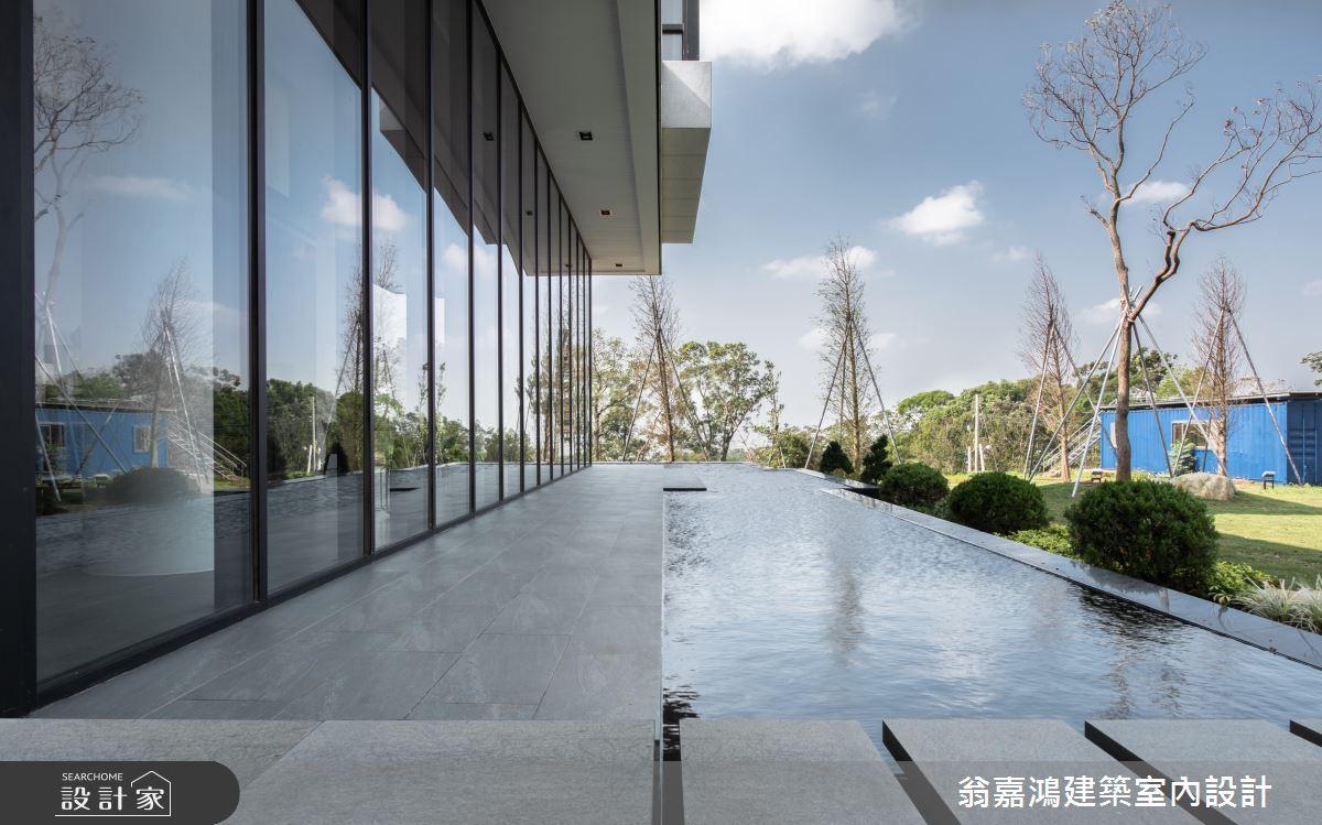 150坪新成屋(5年以下)_奢華風案例圖片_翁嘉鴻建築室內設計_懷生_25.新竹-觀山雲起之1