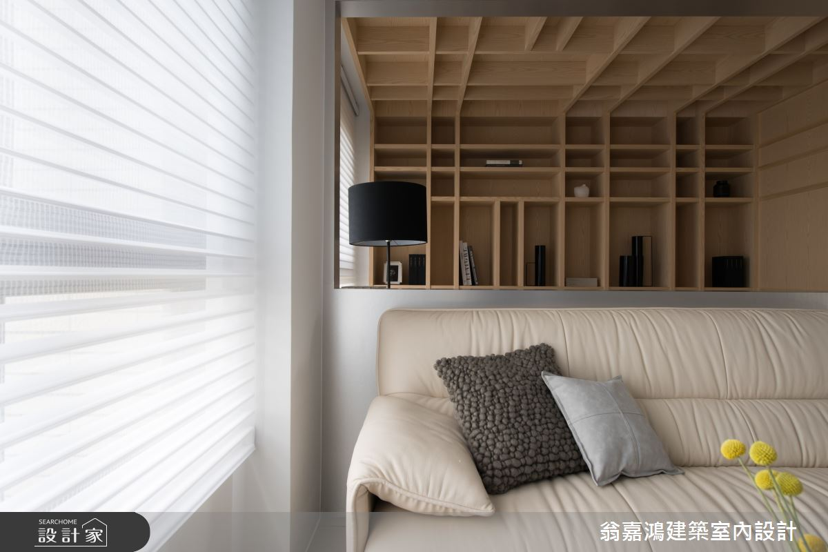 25坪新成屋(5年以下)_簡約風案例圖片_翁嘉鴻建築室內設計_懷生_Z House-5之2