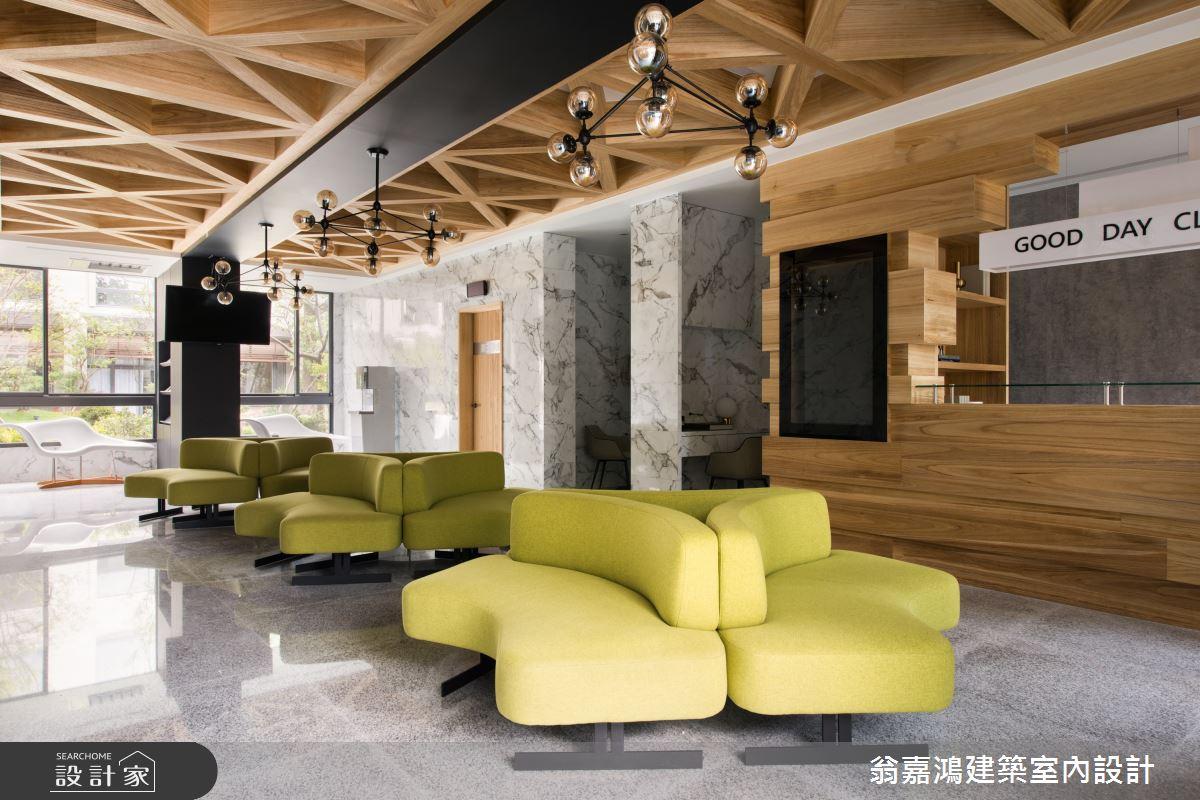 100坪新成屋(5年以下)_北歐風案例圖片_翁嘉鴻建築室內設計_懷生_日康診所之1